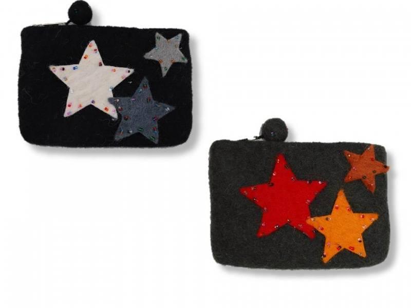 Liten pung med stjerne