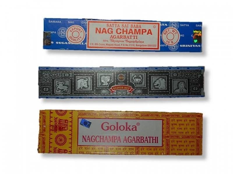 Nag Champa Røkelse